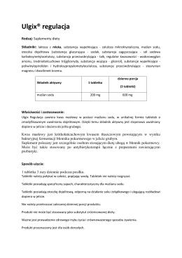Ulgix® regulacja - Hasco-Lek