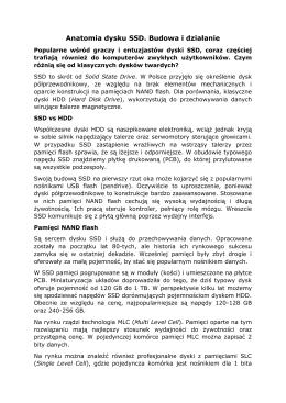 Anatomia dysku SSD. Budowa i działanie