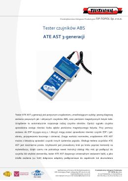 Tester czujników ABS ATE AST 3