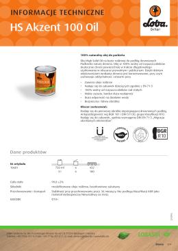10601 HS Akzent 100 Oil