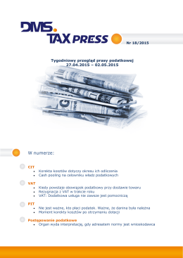 TaxPress nr 18/2015
