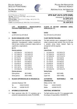 EP_Sup_VFR_2015_25_Loty wojskowych bezzałogowych statków