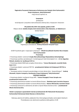 Regionalna Pracownia Krajoznawcza Karkonoszy przy Związku