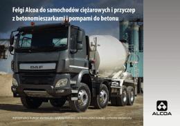 Felgi Alcoa do samochodów ciężarowych i przyczep z