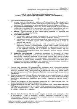 Projekt Załącznik nr - Polski Związek Żeglarski