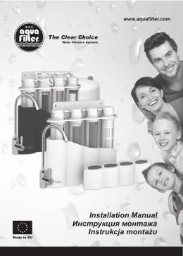 Installation Manual Инструкция монтажа Instrukcja