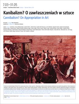 Kanibalizm_Canibalism_zeszyt prasowy_press release