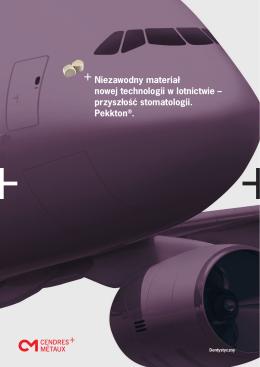 Niezawodny materiał nowej technologii w lotnictwie – przyszłość