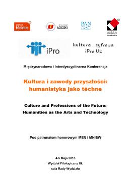 Zaproszenie - Instytut Badań Literackich Polskiej Akademii Nauk