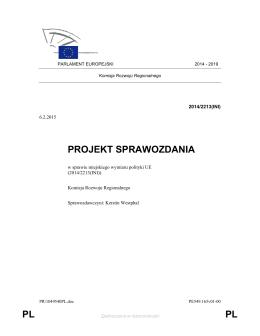 Miejski wymiar polityki UE