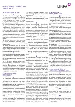 OWU LINK4 DOM Pomoc 24 od 24.10.2015