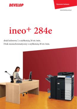 ineo+284e_broszura - printservice.com.pl