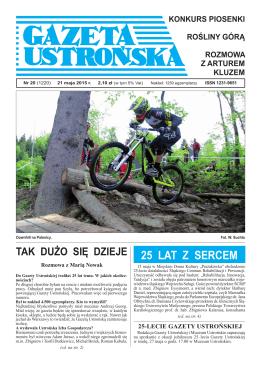 20/2015 - Archiwum Gazety Ustrońskiej