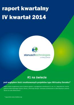 Raport okresowy za IV kwartał 2014