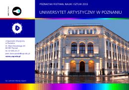 Program-Uniwersytet - Uniwersytet Artystyczny w Poznaniu