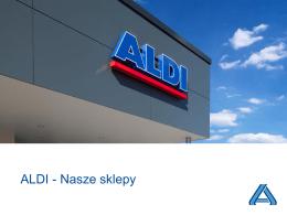 ALDI - Nasze sklepy