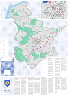 Turystyczna Mapa Radzymina - Urząd Miasta i Gminy Radzymin