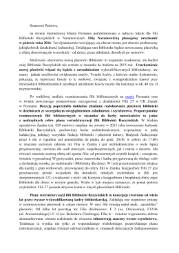Szanowni Państwo, na stronie internetowej Miasta Poznania