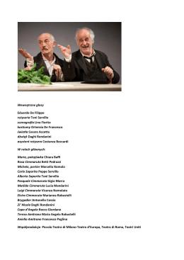 Wewnętrzne głosy Eduardo De Filippo reżyseria Toni Servillo