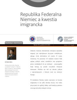 Biuletyn Niemiecki 59 - Fundacja Współpracy Polsko