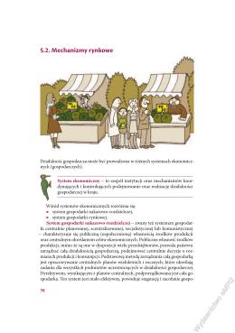 5.2. Mechanizmy rynkowe