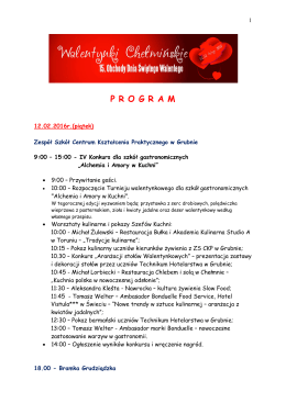 Program w wersji do druku