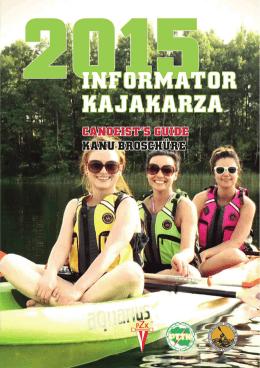 Informator Kajakarza 2015 - Strona Komisji Kajakowej ZG PTTK