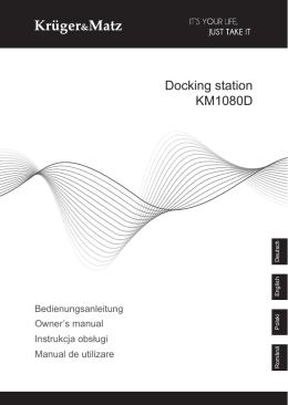 Docking station KM1080D