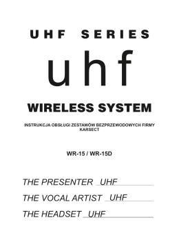 WR 15 WR15D - Instrukcja