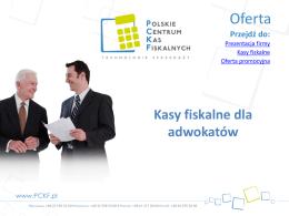 Oferta PCKF
