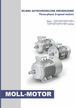 katalog silników dwubiegowych - silniki elektryczne Moll Motor