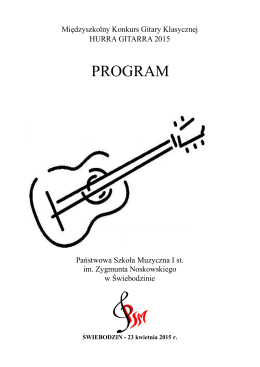 PROGRAM - PSM Świebodzin
