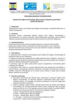 Schwytać światło - Związek Gmin Regionu Kutnowskiego