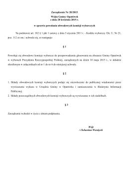 Pobierz - Biuletyn Informacji Publicznej Gminy Opatówek