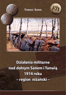 Działania militarne nad dolnym Sanem i Tanwią 1914 roku – region