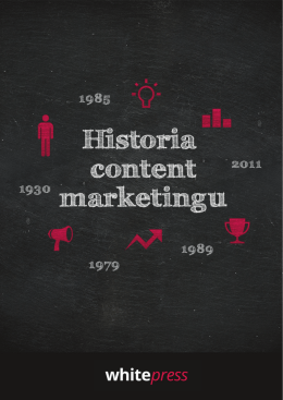 Historia content marketingu