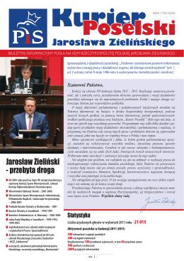 Kurier Poselski - Jarosław Zieliński