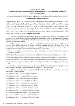 Uchwała Nr III/17/2015 - Związek Gmin Regionu Ostródzko