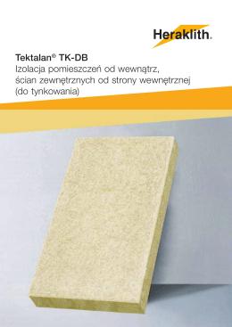 Tektalan® TK-DB Izolacja pomieszczeń od wewnątrz, ścian