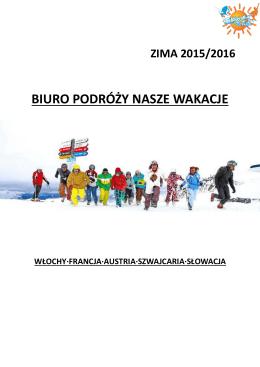 katalog zima 10 06 2015 - Snow Sun & Fun