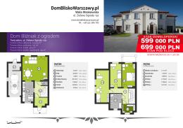 Pobierz kartę katalogową domu