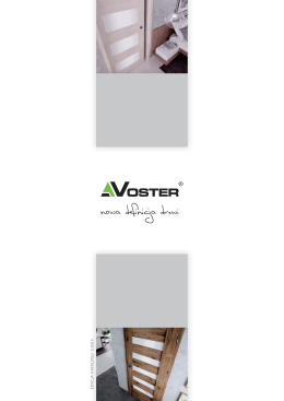 Voster Katalog 2015 (9.2 MiB)