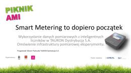 M.Pastuszka TD - Smart-metering to początek