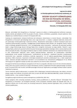 siedziby szlachty górnośląskiej od xviii do początku xx wieku…
