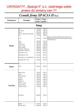 Cennik w formacie PDF