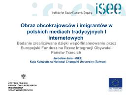 Obraz obcokrajowców i imigrantów w polskich mediach tradycyjnych