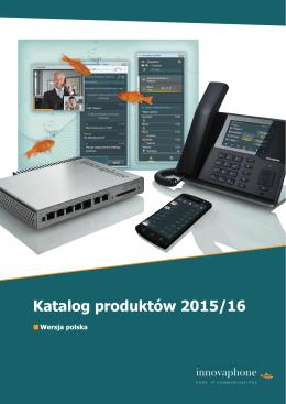 Katalog produktów 2015/2016