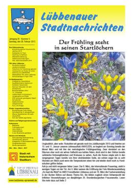 Lübbenauer Stadtnachrichten