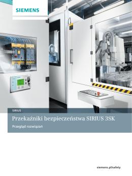 Przekaźniki bezpieczeństwa SIRIUS 3SK