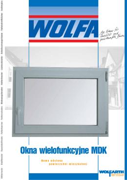 Okna wielofunkcyjne MDK - Friedrich Wolfarth GmbH & Co. KG